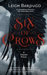 Six Of Crows Book Cover